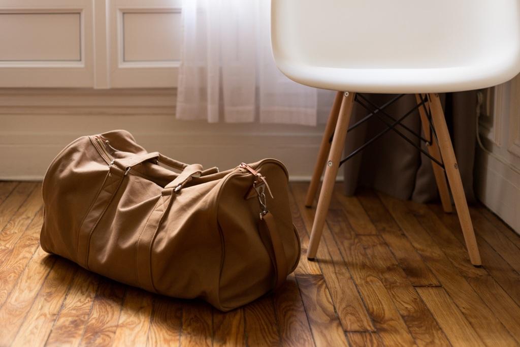 Tasche in der Wohnung